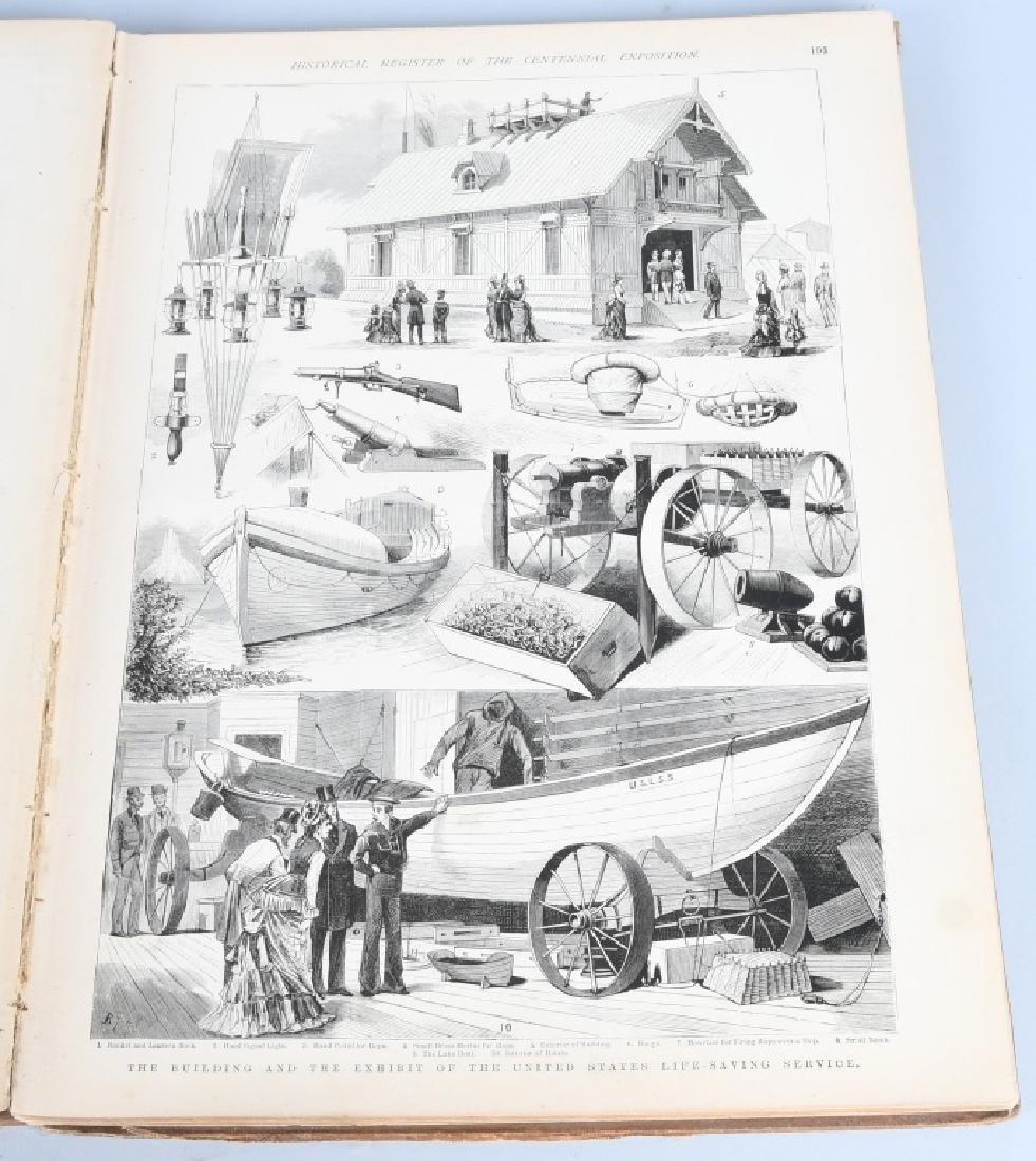 FRANK LESLIE 1876 CENTENNIAL HISTORICAL REGISTER - 9