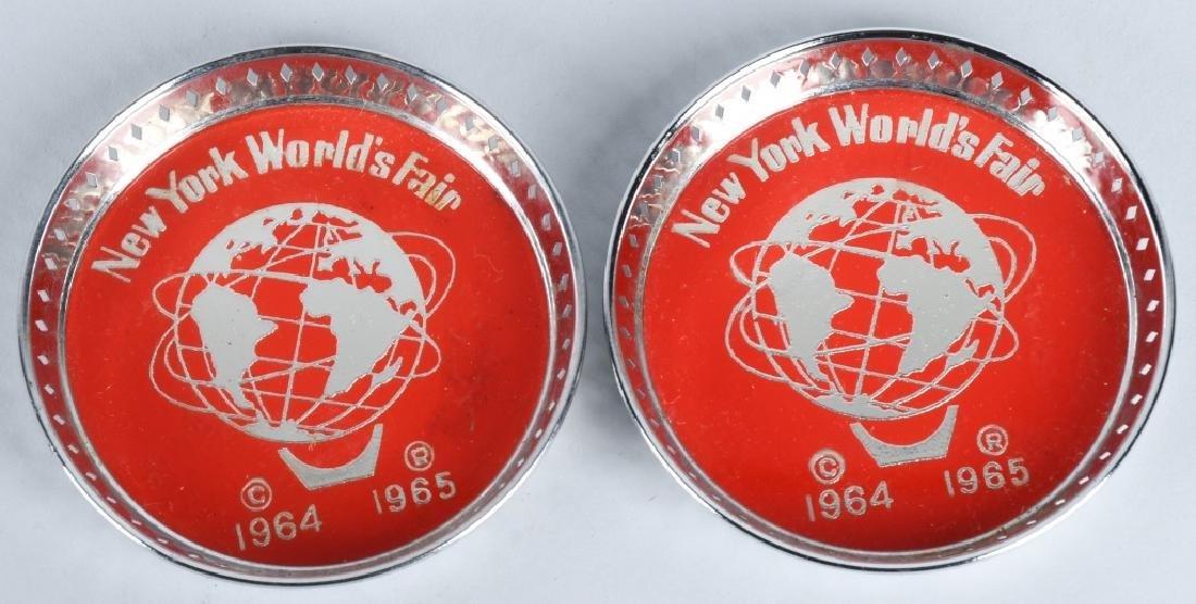 1964-65 NEW YORK WORLDS FAIR SOUVENIRS - 3
