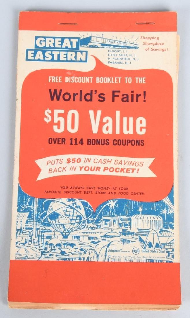1964-65 NEW YORK WORLDS FAIR SOUVENIRS - 5