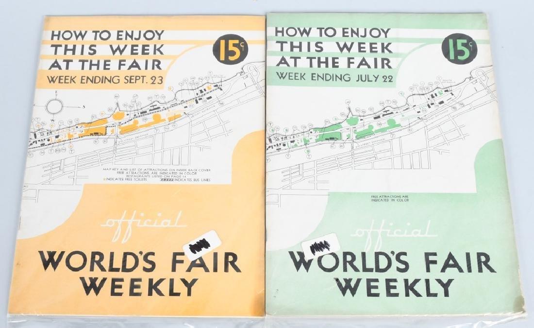 16- 1933 WORLDS FAIR WEEKLY PROGRAMS - 3