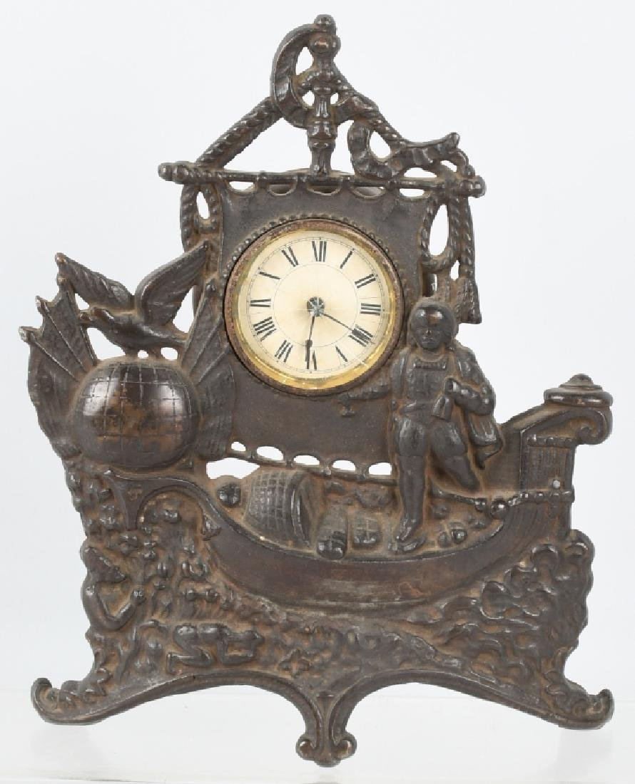 COLUMBIAN EXPOSITION CAST IRON CLOCK