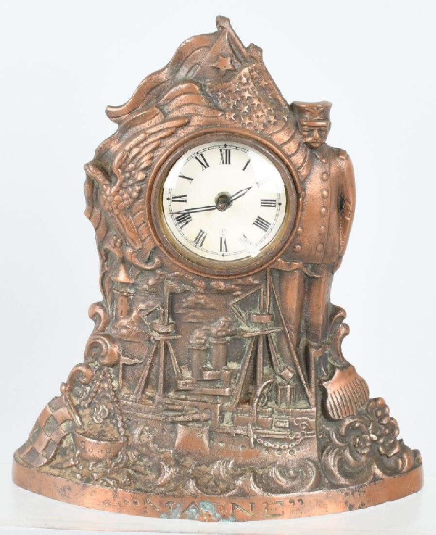 THE MAINE CAST IRON CLOCK