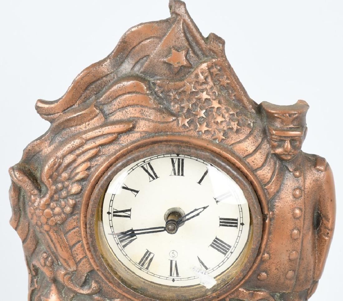 THE MAINE CAST IRON CLOCK - 2