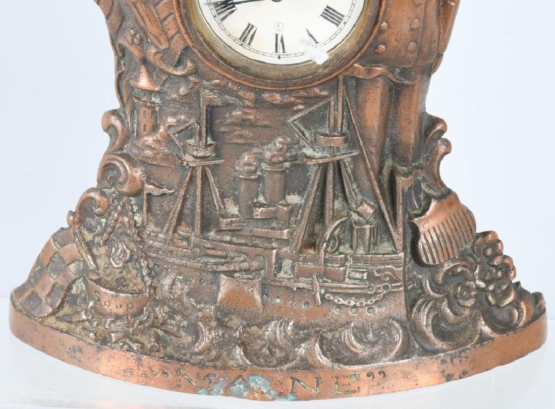 THE MAINE CAST IRON CLOCK - 3
