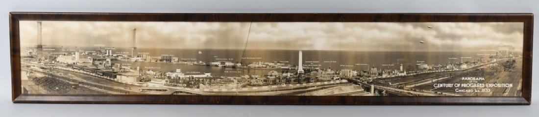 1933 CHICAGO WORLDS FAIR YARD LONG PICTURE