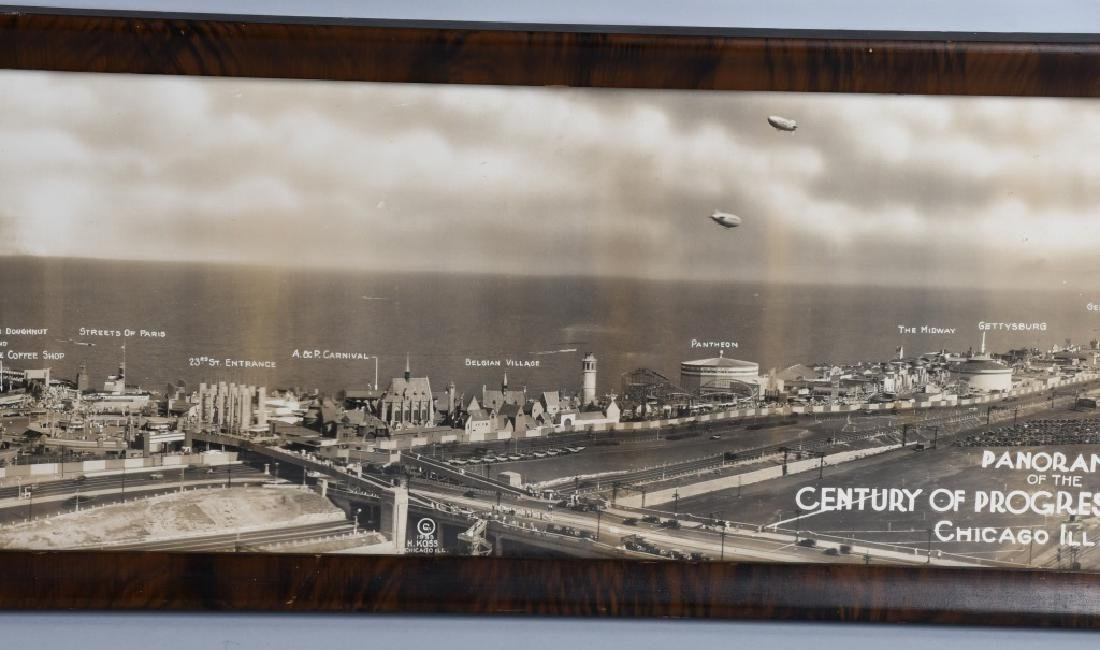 1933 CHICAGO WORLDS FAIR YARD LONG PICTURE - 3