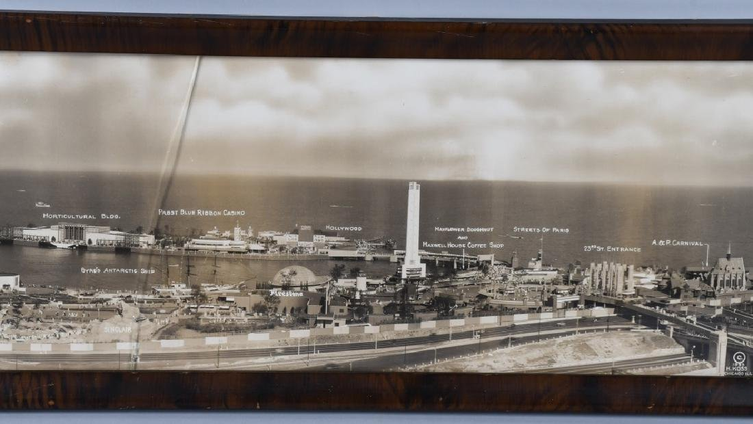 1933 CHICAGO WORLDS FAIR YARD LONG PICTURE - 4