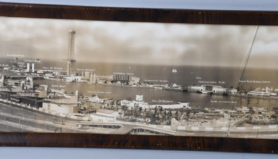 1933 CHICAGO WORLDS FAIR YARD LONG PICTURE - 5