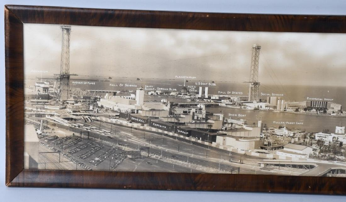 1933 CHICAGO WORLDS FAIR YARD LONG PICTURE - 6