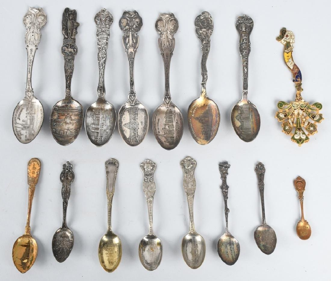 16- 1904 ST LOUIS EXPOSITION SPOONS