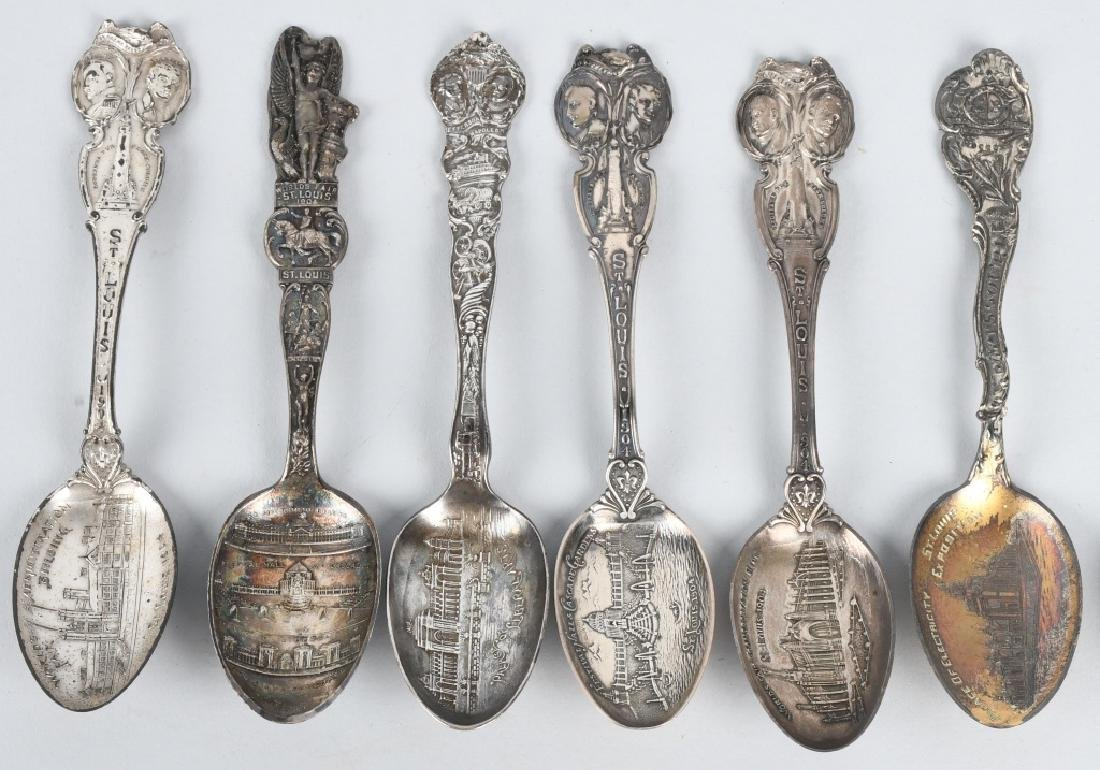 16- 1904 ST LOUIS EXPOSITION SPOONS - 2