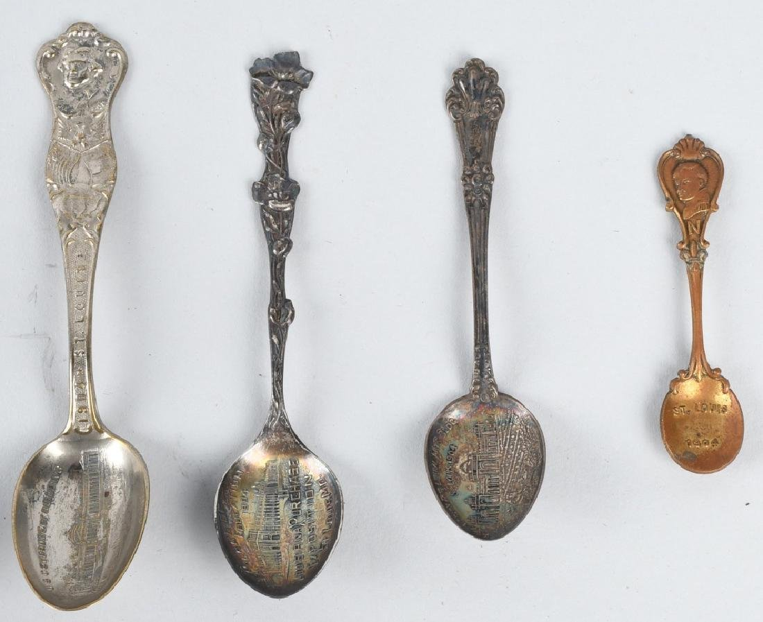 16- 1904 ST LOUIS EXPOSITION SPOONS - 5