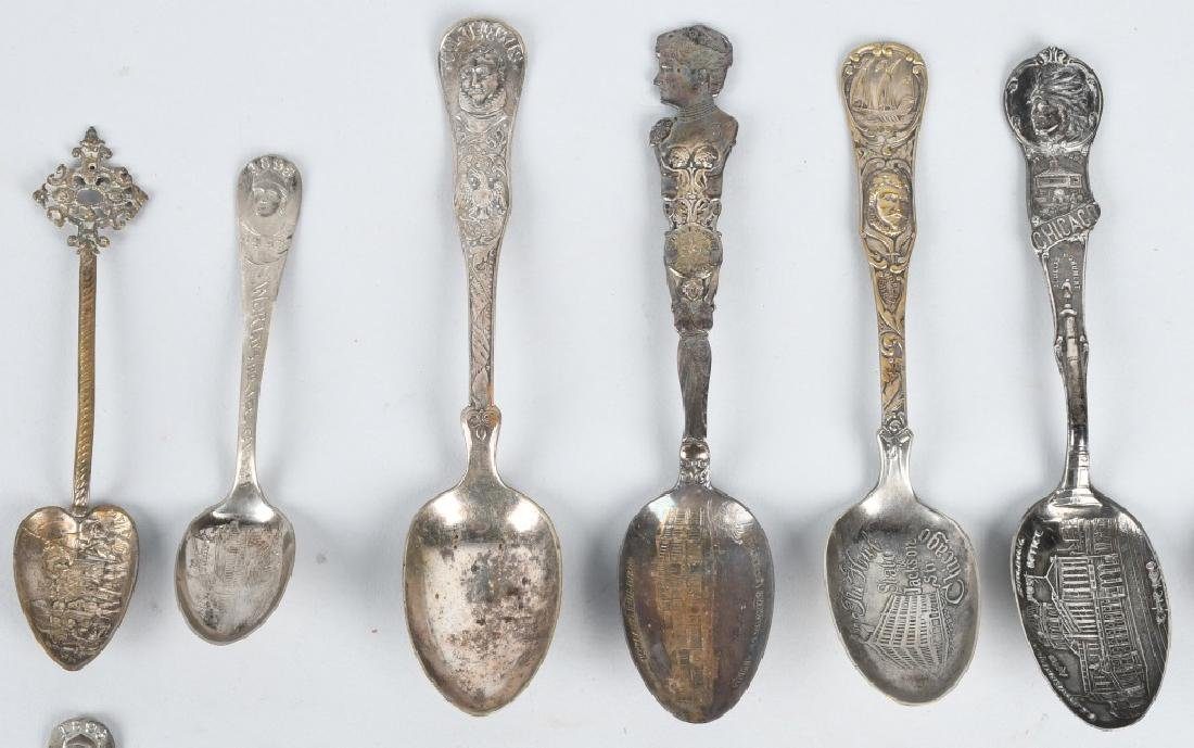 15- 1893 COLUMBIAN EXPOSITION SPOONS - 2