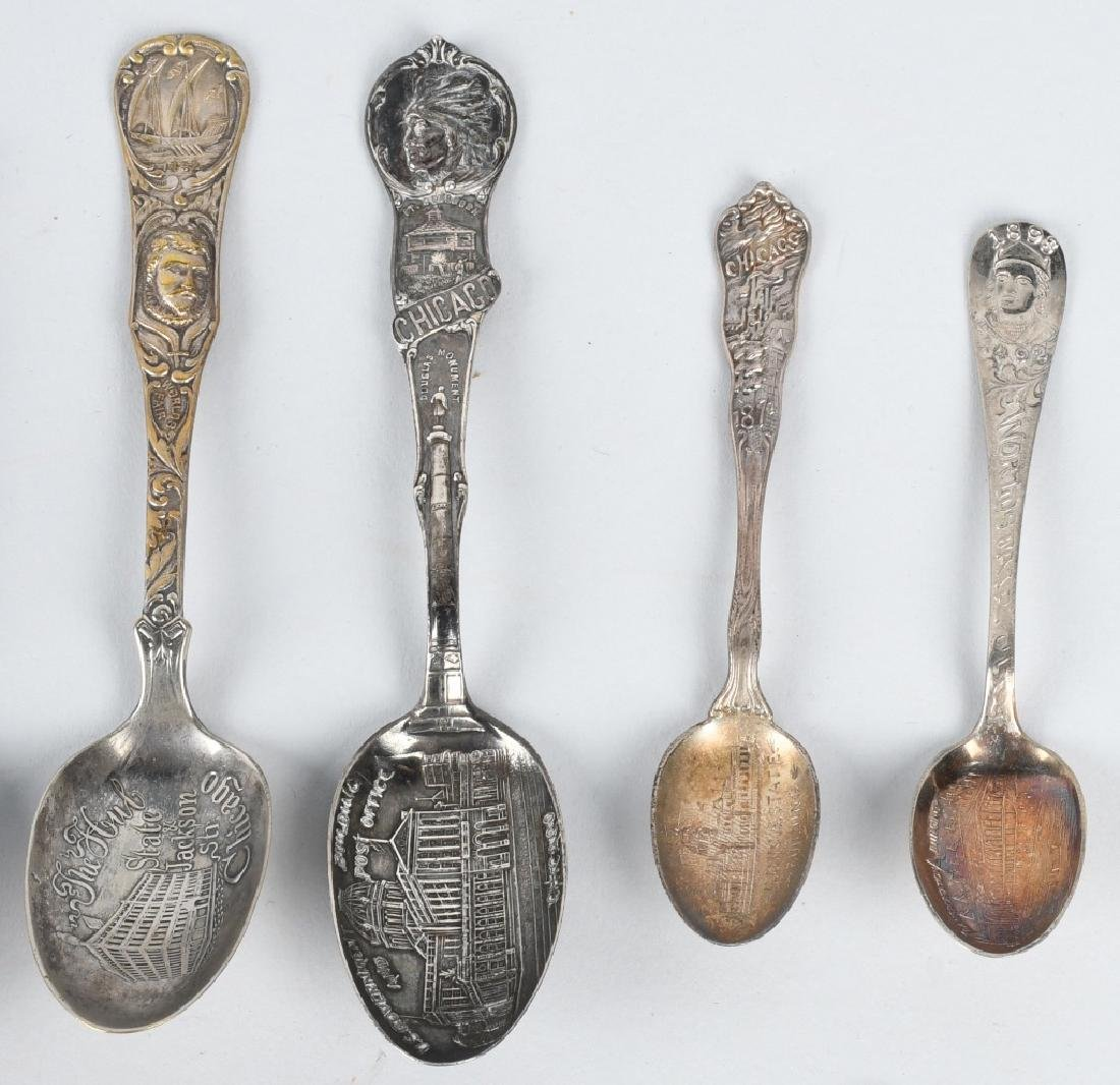 15- 1893 COLUMBIAN EXPOSITION SPOONS - 3