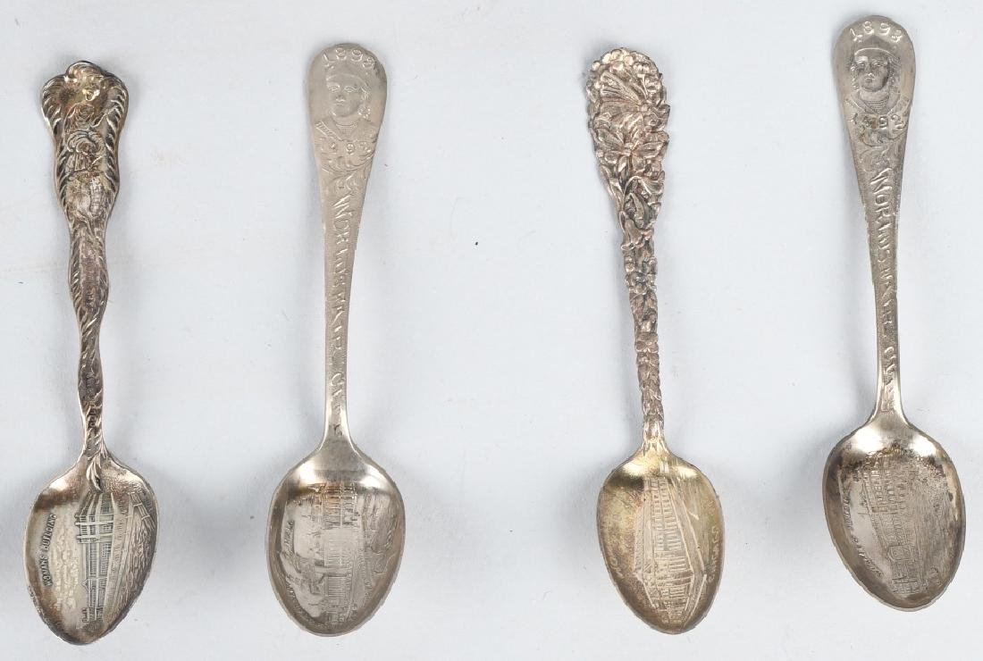 15- 1893 COLUMBIAN EXPOSITION SPOONS - 4