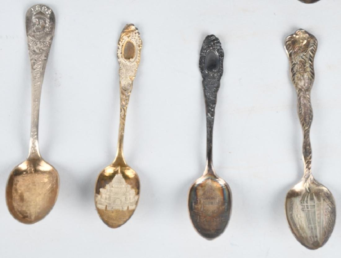 15- 1893 COLUMBIAN EXPOSITION SPOONS - 5