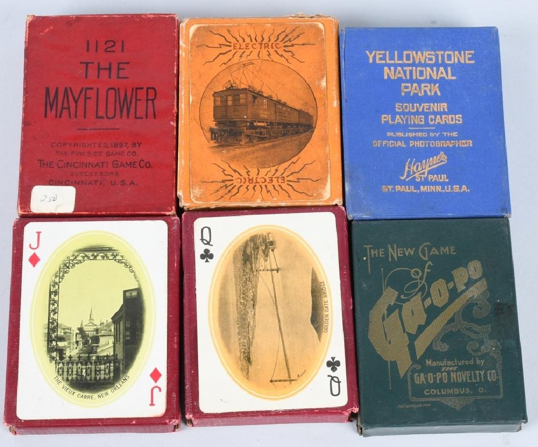 25- DECKS OF SOUVENIR PLAYING CARDS - 4
