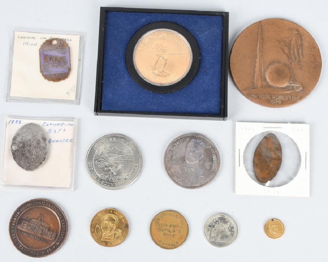 EXPOSITION & WORLDS FAIR COINS & MEDALS