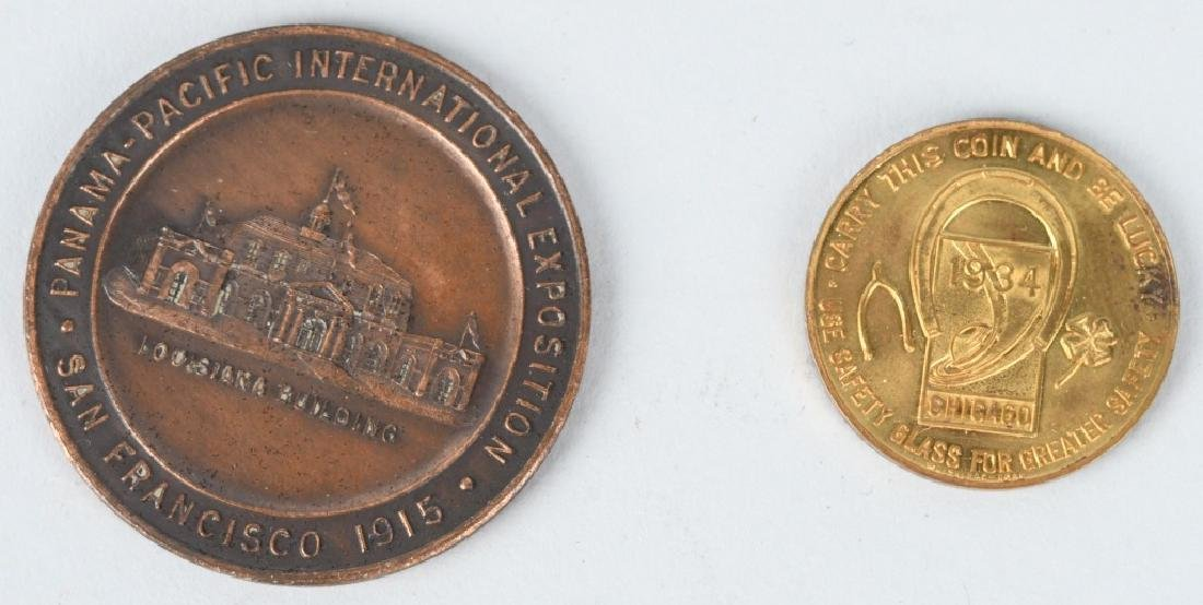 EXPOSITION & WORLDS FAIR COINS & MEDALS - 6