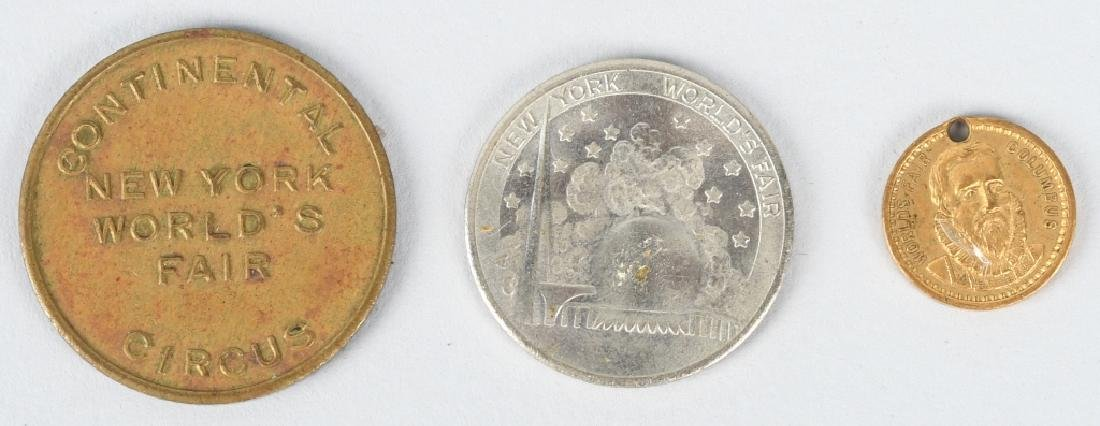 EXPOSITION & WORLDS FAIR COINS & MEDALS - 7