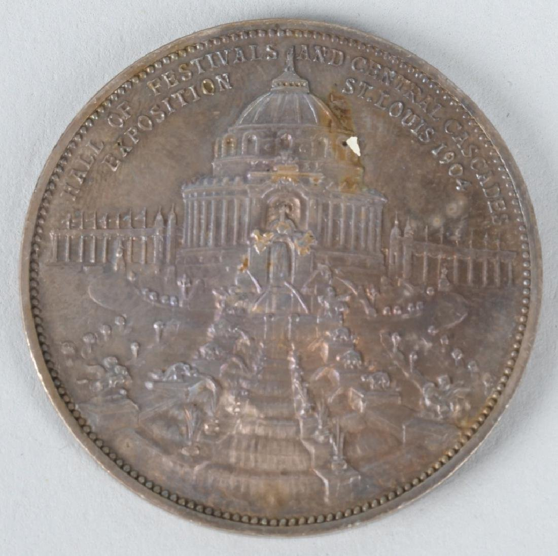 EXPOSITION & WORLDS FAIR COINS & MEDALS - 9
