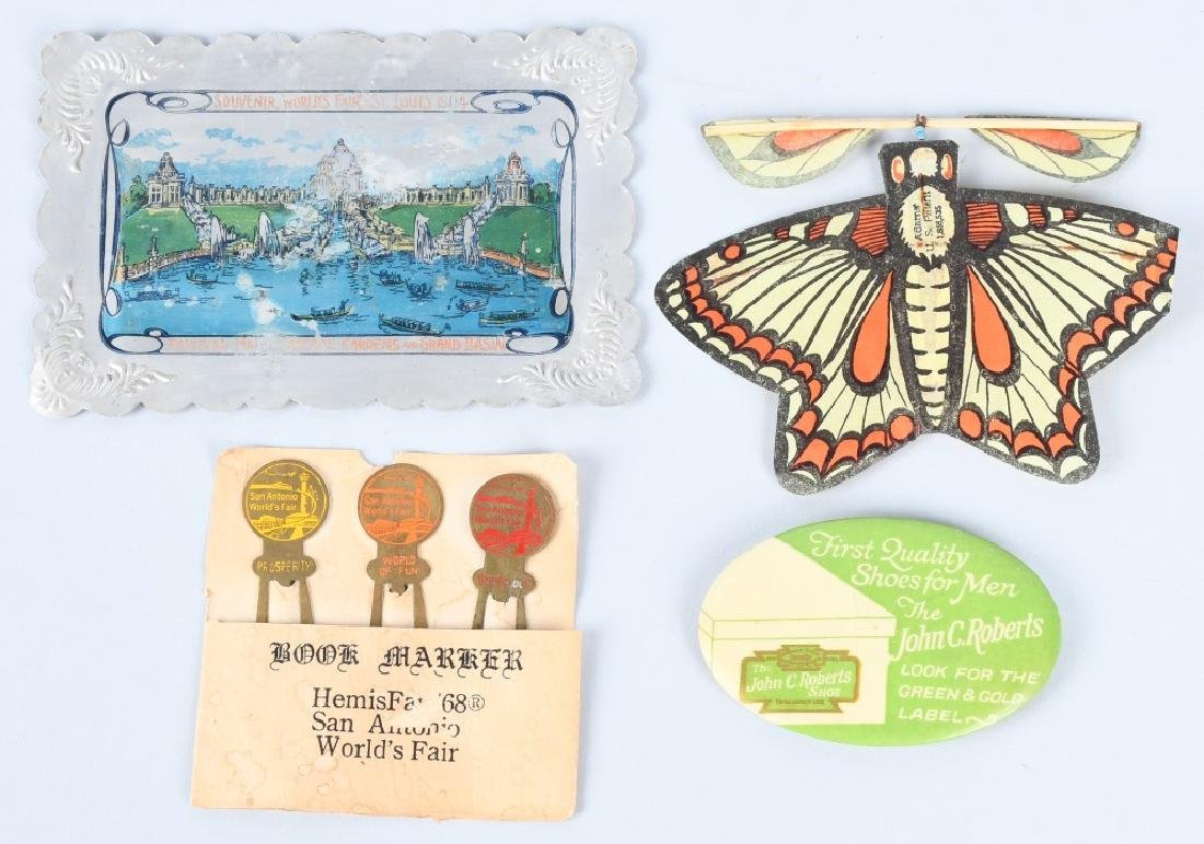 LOT OF WORLDS FAIR SOUVENIRS - 6