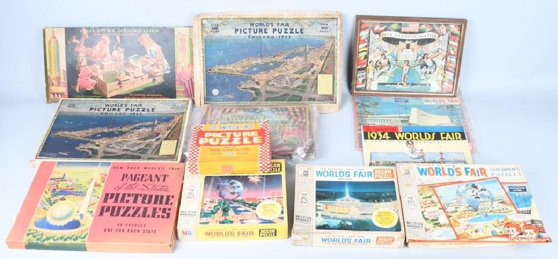 WORLDS FAIR PUZZLES & GAMES