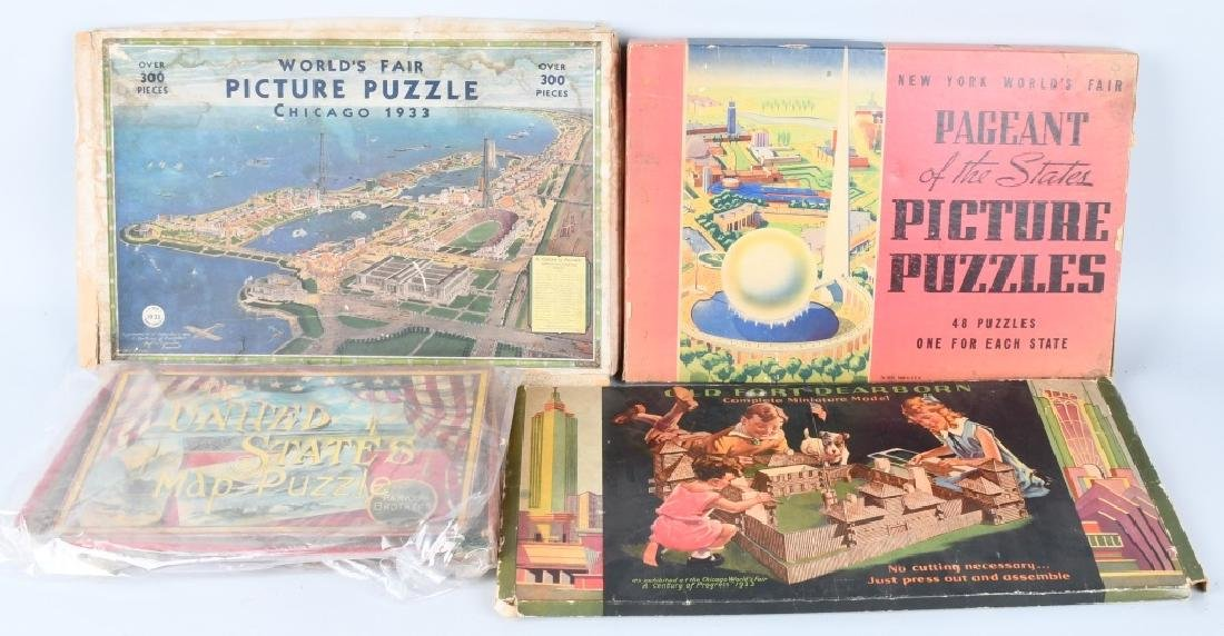 WORLDS FAIR PUZZLES & GAMES - 3