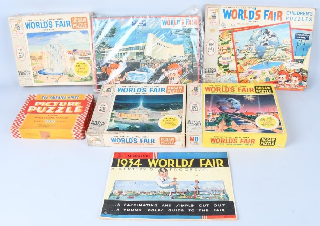 WORLDS FAIR PUZZLES & GAMES - 4