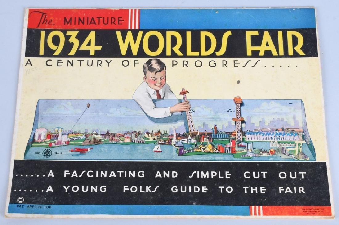 WORLDS FAIR PUZZLES & GAMES - 5