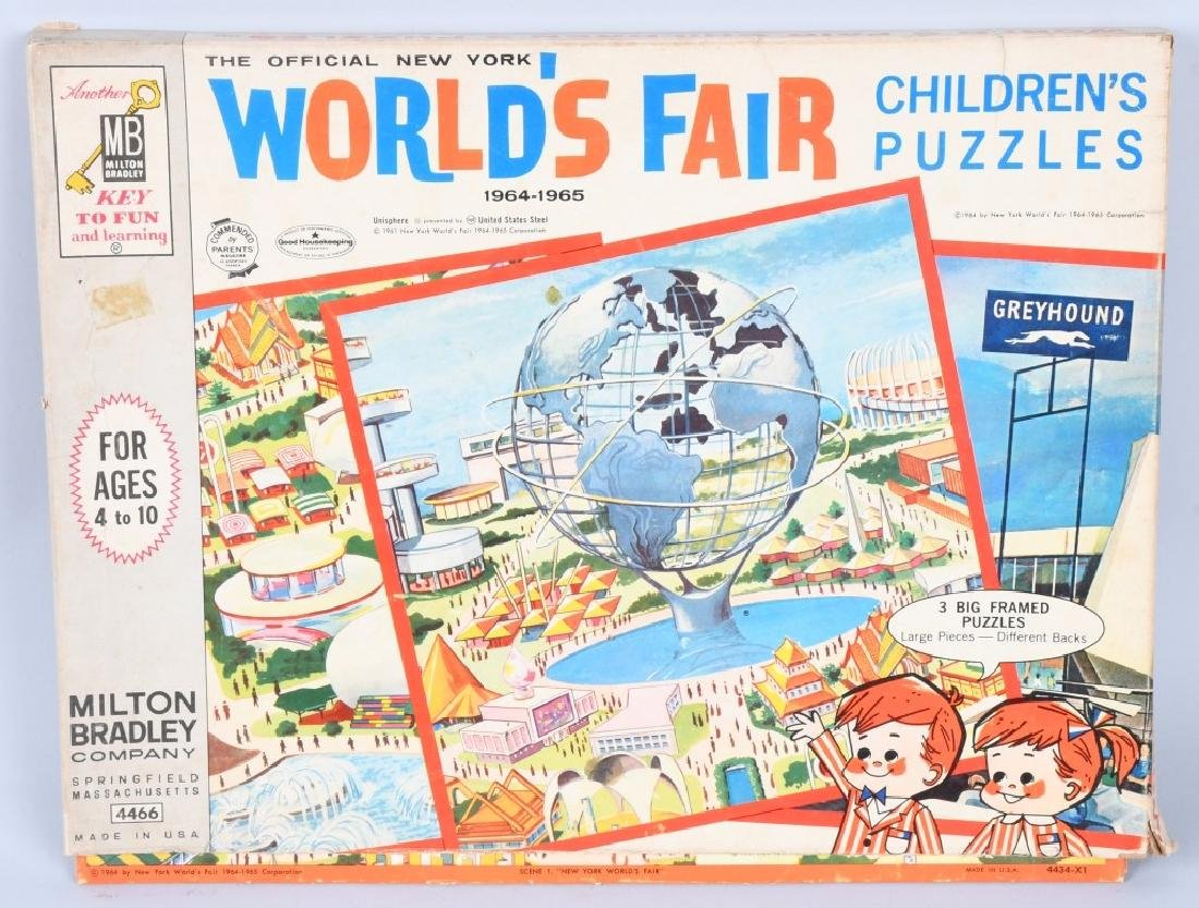 WORLDS FAIR PUZZLES & GAMES - 6