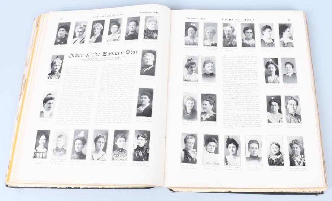 1903-04 LOUISIANA PURCHASE EXPO BOOK - 3