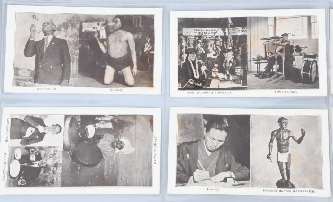 RIPLEYS PHOTO POSTCARDS & WORLDS FAIR EPHEMERA - 3