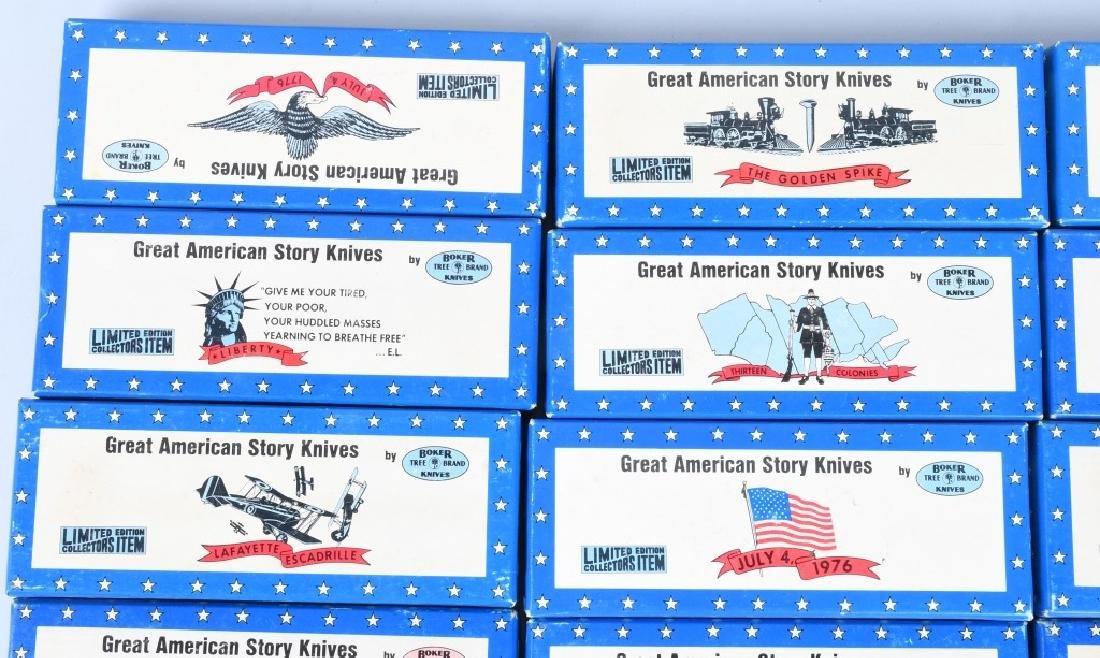 12- BOKER GREAT AMERICAN STORY KNIVES MIB - 2