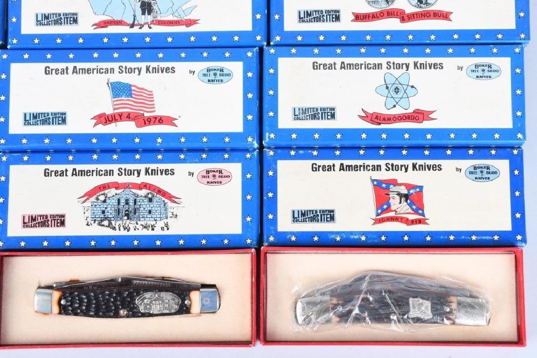 12- BOKER GREAT AMERICAN STORY KNIVES MIB - 4