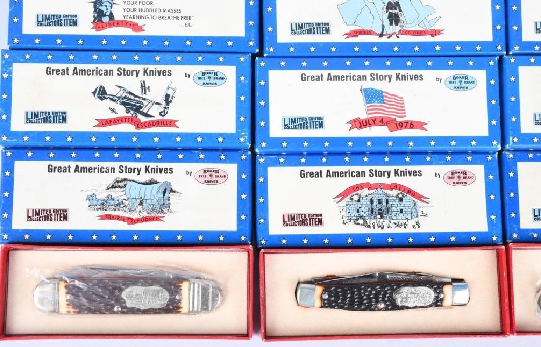 12- BOKER GREAT AMERICAN STORY KNIVES MIB - 5