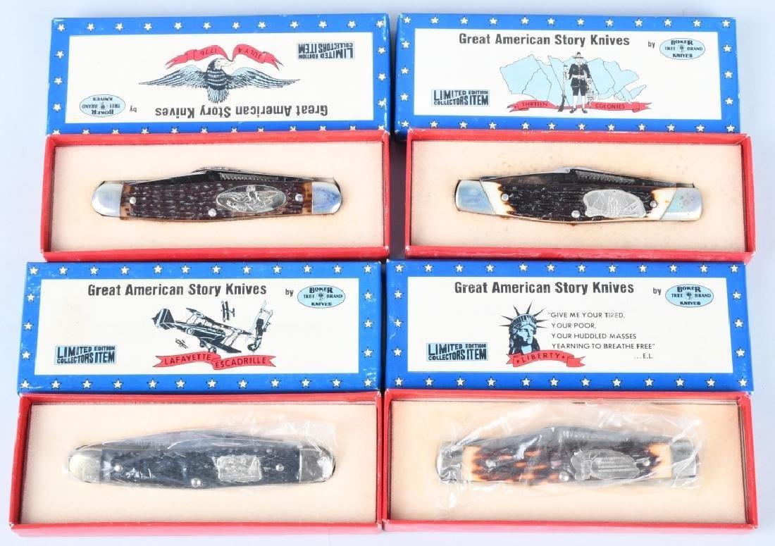12- BOKER GREAT AMERICAN STORY KNIVES MIB - 6