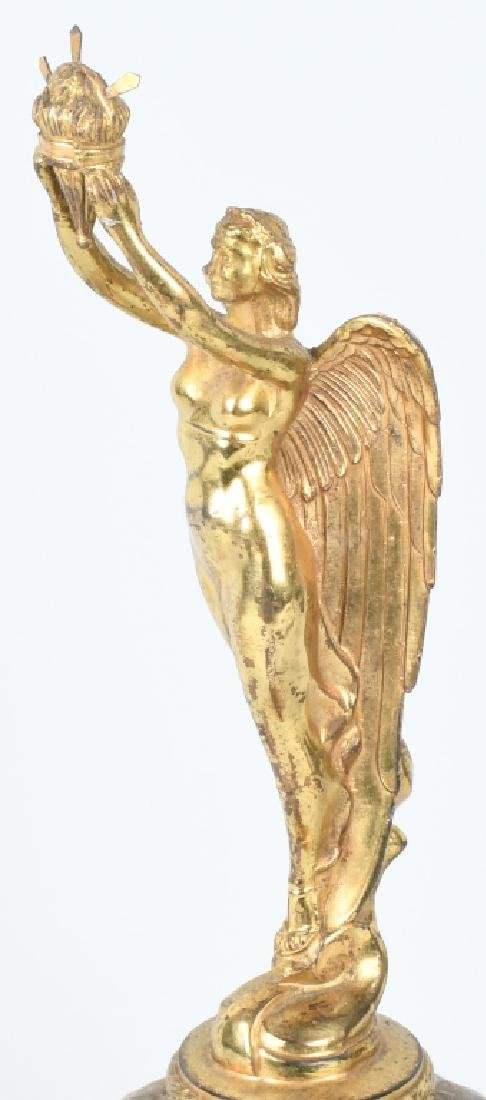 EARLY WINGED GODDESS ON GLOBE TROPHY - 2