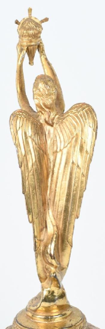 EARLY WINGED GODDESS ON GLOBE TROPHY - 5