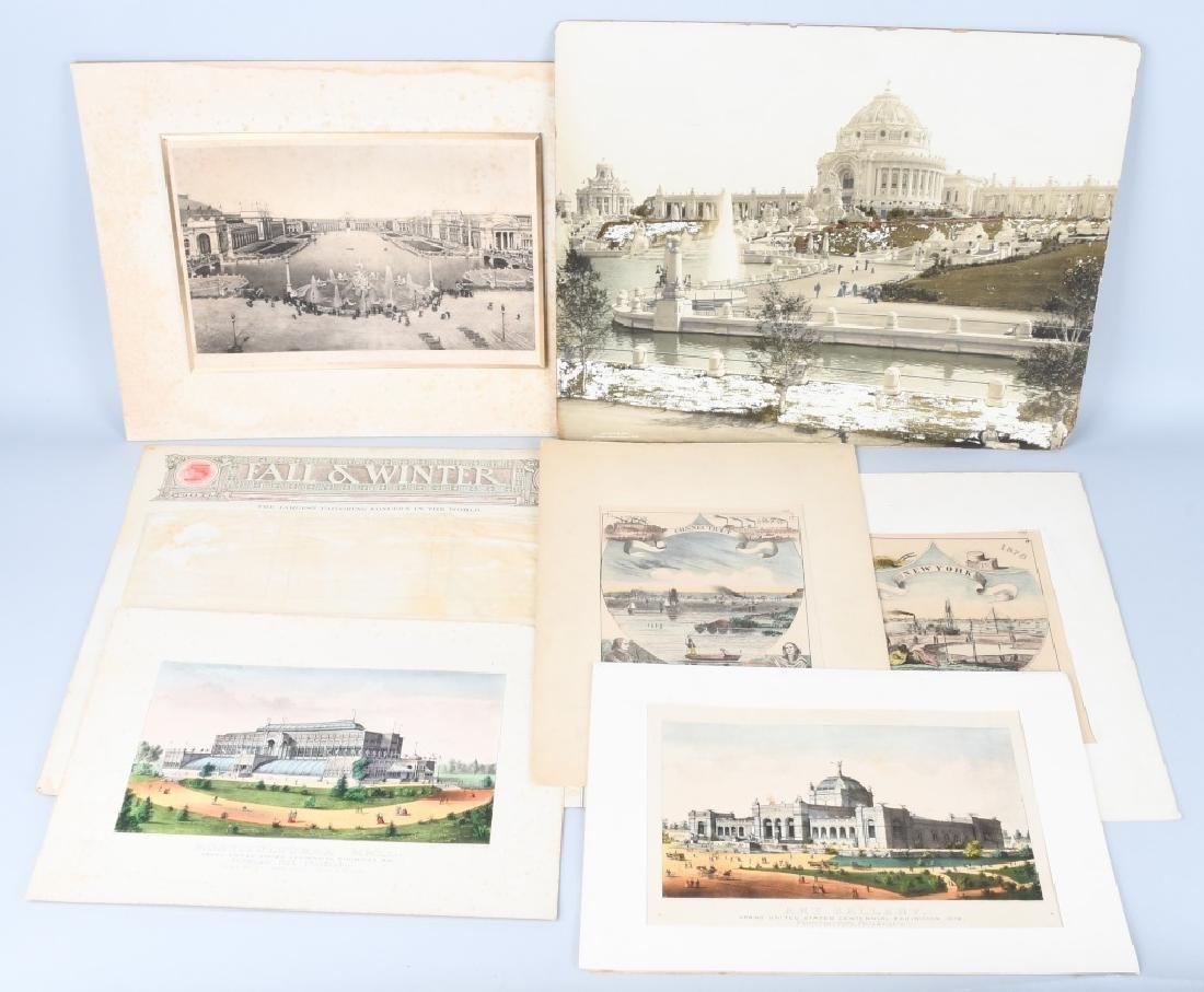 LOT OF WORLDS FAIR PRINTS