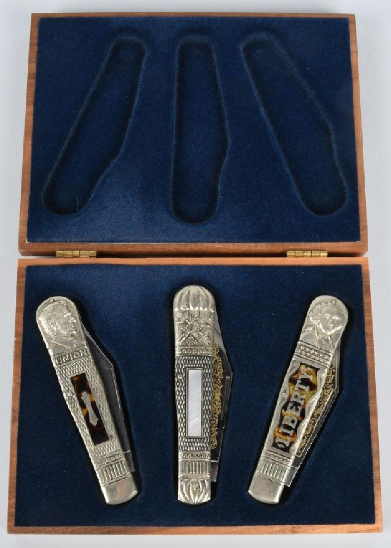 J.W. HICKEY LIBERTY KNIFE SET