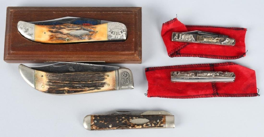 5- 1776-1976 BICENTENNIAL POCKET KNIVES
