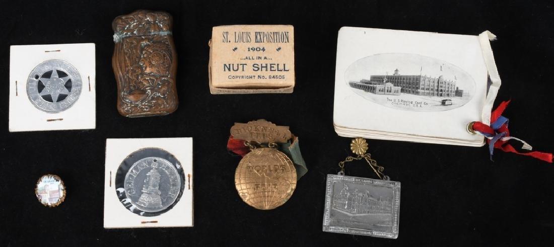 1904 ST LOUIS EXPOSITION SOUVENIRS