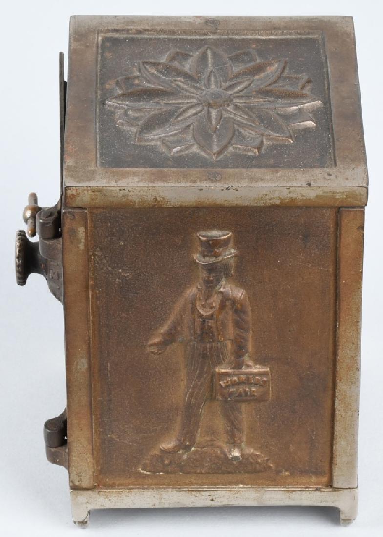 1893 COLUMBIAN EXPOSITION SAFE BANK - 2