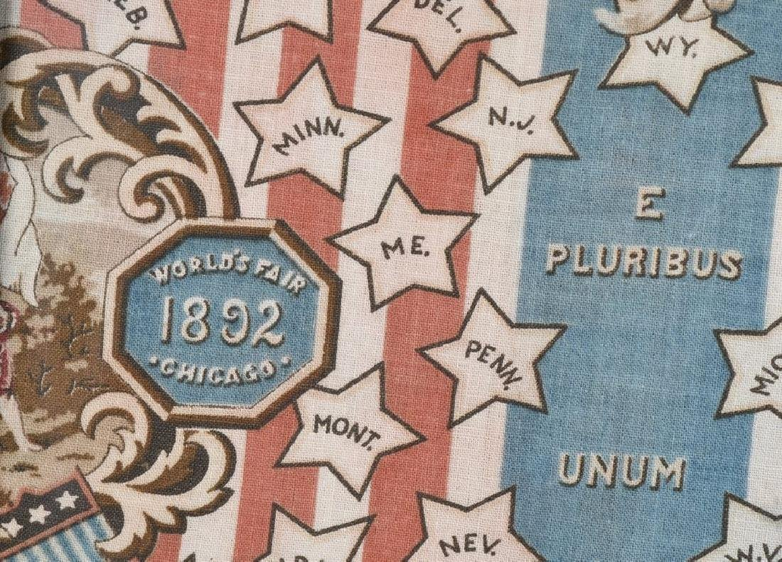 1892 COLUMBIAN EXPOSITION FABRIC - 7