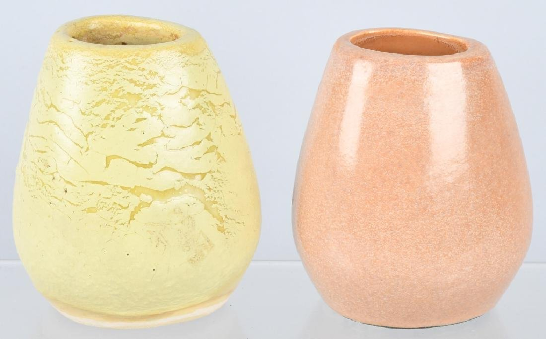2-RUSSEL WRIGHT BAUER ART POTTERY VASES