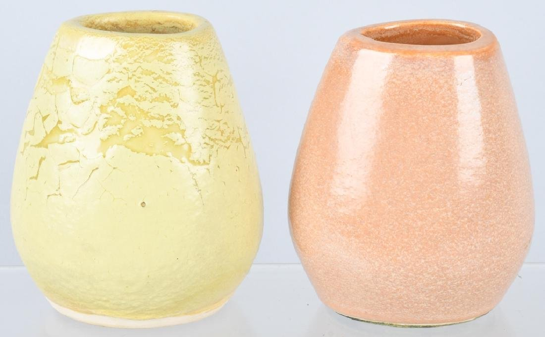 2-RUSSEL WRIGHT BAUER ART POTTERY VASES - 2