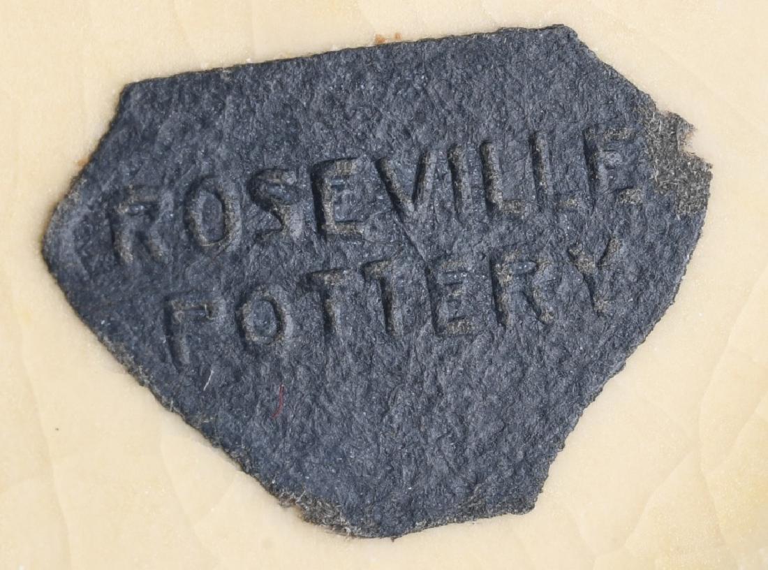 ROSEVILLE BLACKBERRY HANDLED VASE - 6