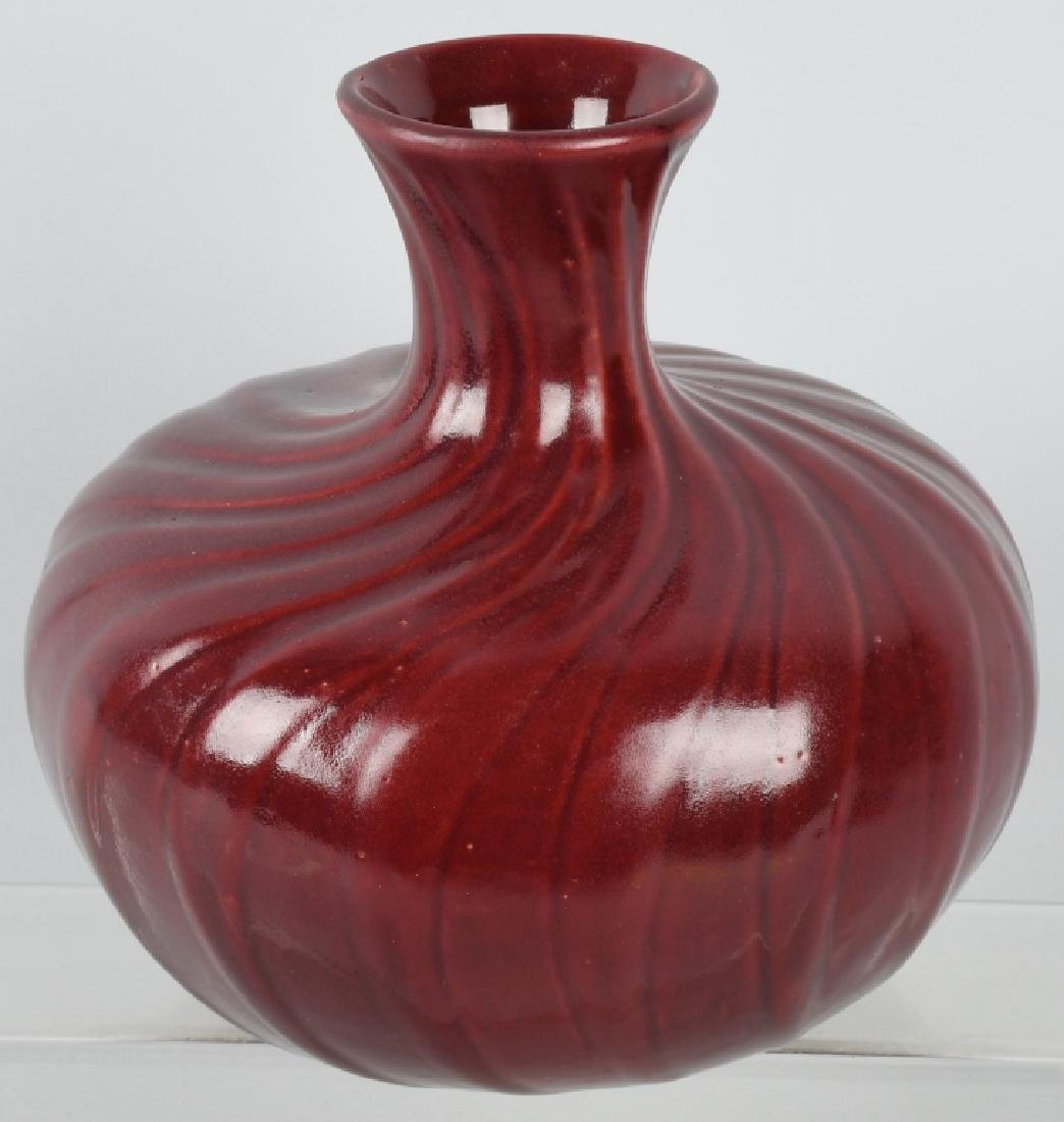 JB HUNT BROADWOOD POTTERY VASE - 2