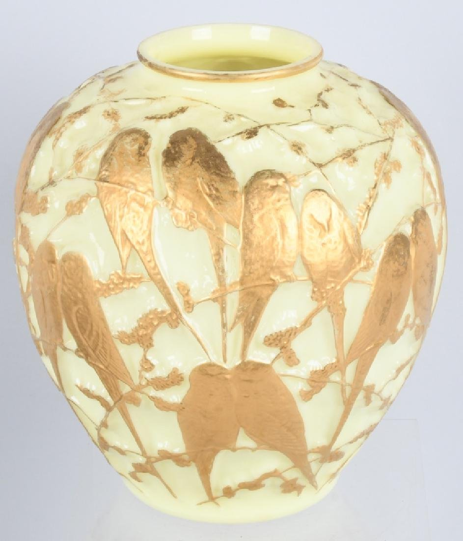CONSOLIDATED MARTELE LOVE BIRDS VASE